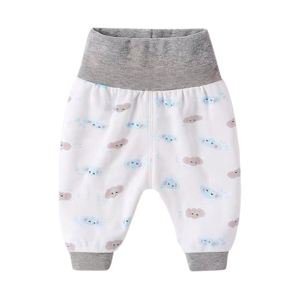 Easy Pull-on Pants Grey Elephant