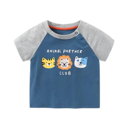 Boys Summer Tee Animal Club