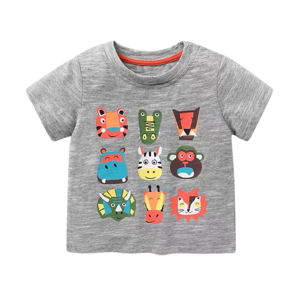 Boys Summer Tee Wildlife