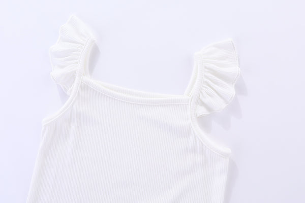 Agnes Bodysuit Dove White