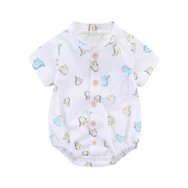 Gabe Handsome Dino Shirt Bodysuit