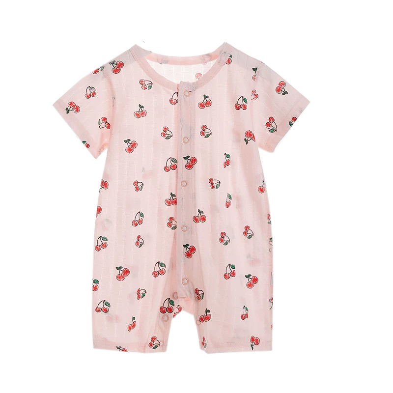 Air Series Long Bodysuit Cherry Prints