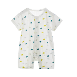 Air Series Long Bodysuit Crown Prints