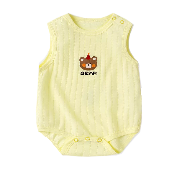Air Series Sleeveless Bodysuit Yellow