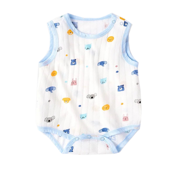 Air Series Sleeveless Bodysuit Animal Prints