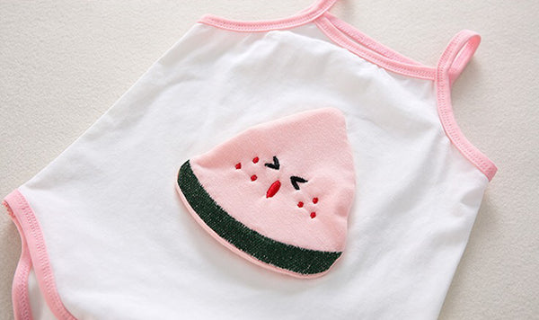 Summer Spag Bodysuit Watermelon