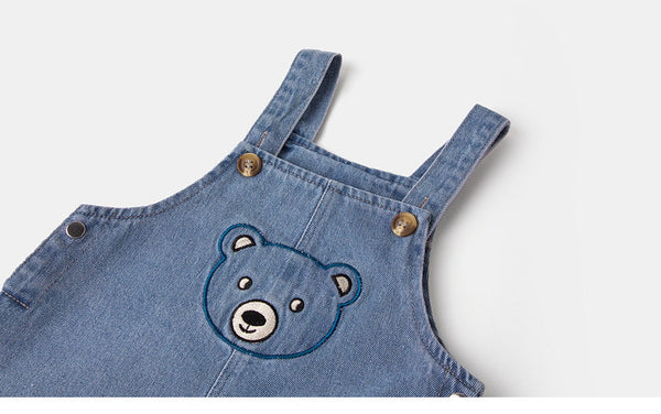 Beary Playsuit Denim