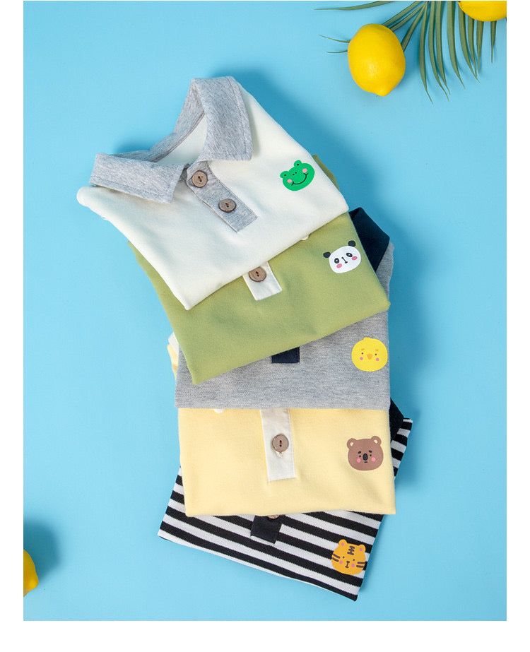 Baby Polo Bodysuit Chick