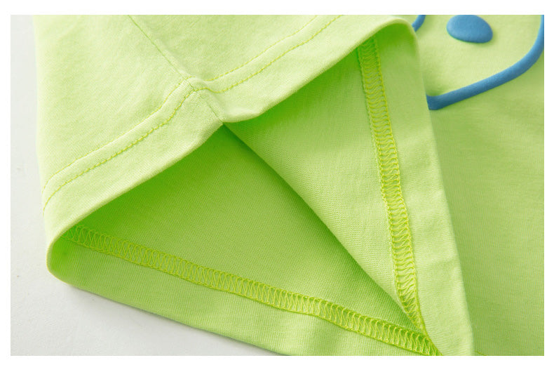 Party Summer Singlet Lime