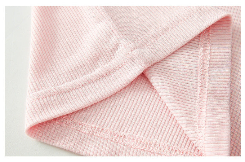 Everyday Ribbed Cotton Set Candy