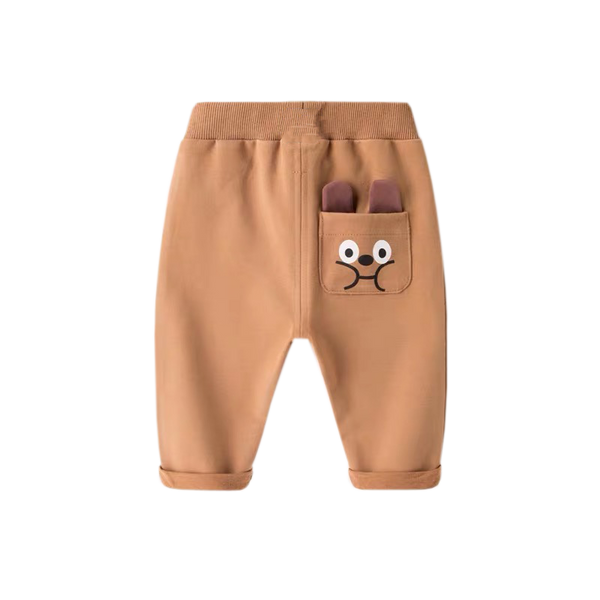 Brown Cutie Bear Pants