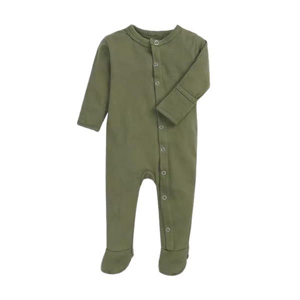 Soft Everynight Sleepsuit Olive