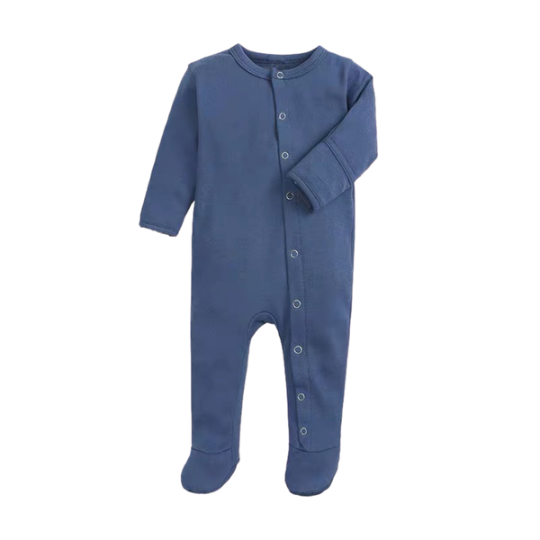 Soft Everynight Sleepsuit Pigeon Blue