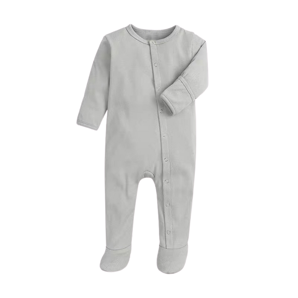 Soft Everynight Sleepsuit Pigeon Slate