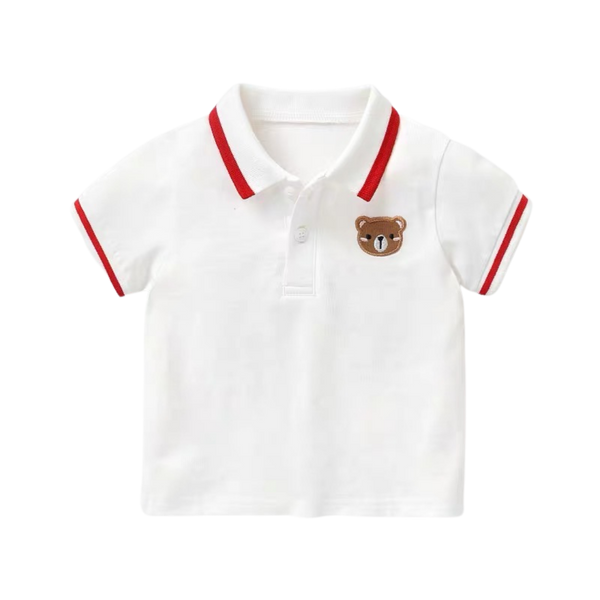 Soft Polo Top Bear