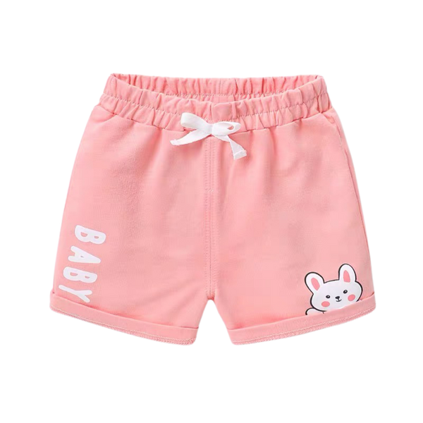 Summer Cotton Shorts Bunny