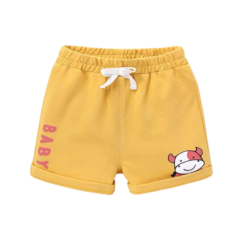 Summer Cotton Shorts Moo