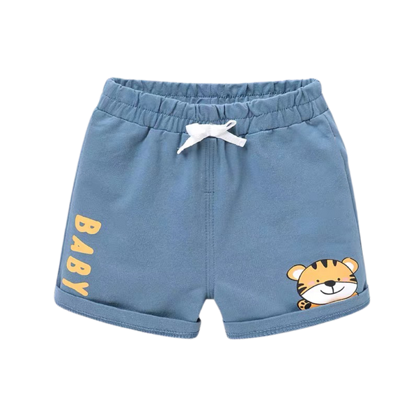 Summer Cotton Shorts Tiger