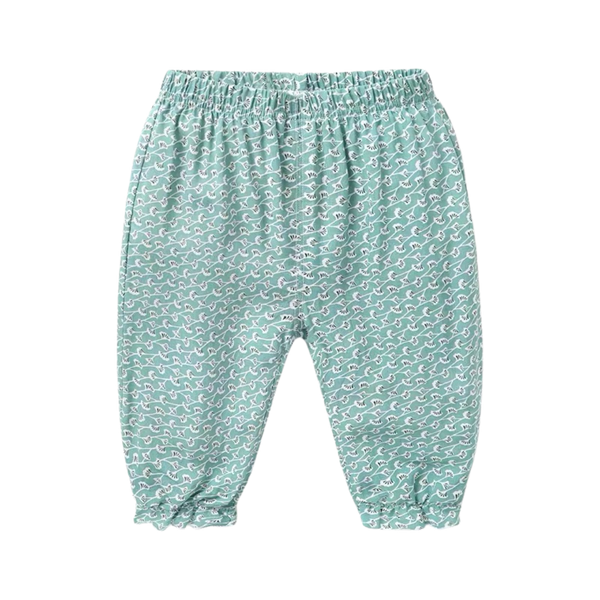 Summer Frill Pants Sage