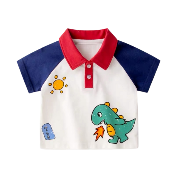 Summer Polo Shirt Dino