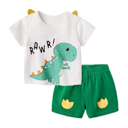 Cotton Cute Soft Tee Set Rawr