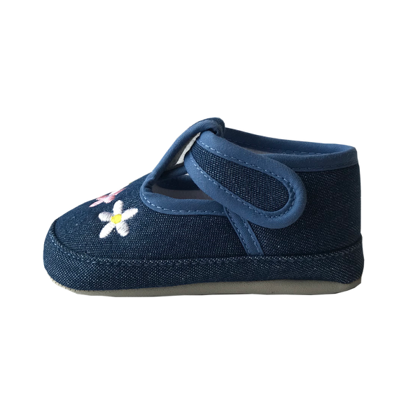 Blue Daisy Shoes