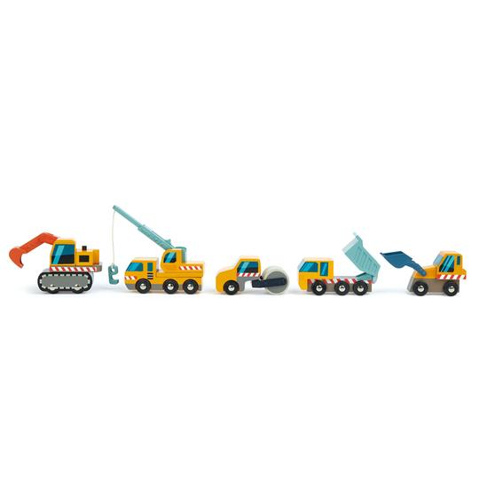 Construction Vehicles (Set of 5)