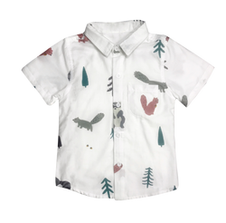 In The Woods Collar Shirt