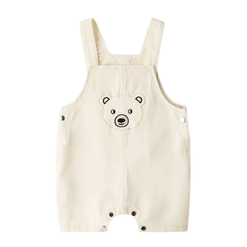 Beary Playsuit Snow