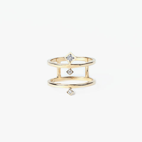 Diamond Bastien Ring
