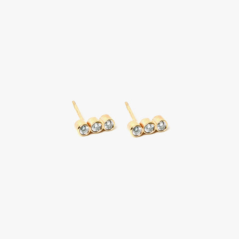 Diamond Verge Earrings