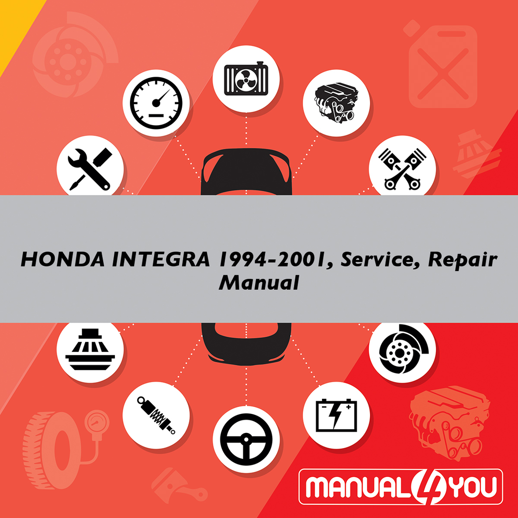 HONDA INTEGRA 1994-2001, Service, Repair Manual