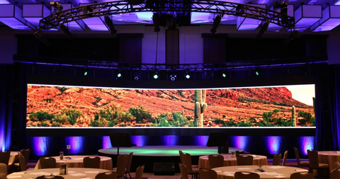 Conference Video Wall