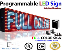 "Load image into Gallery viewer, Neon Open 6"" x 14ft Full Color Digital Outdoor Indoor Business Shop Store Led Sign Programmable Still Scrolling Text Animation Display - Deol Display Systems Neon Open Led Signs"