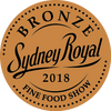 Sydney Fine Food Awards Bronze Medal 2018