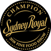 Sydney Royal Fine Food Awards - CHAMPION AQUACULTURE PRODUCT