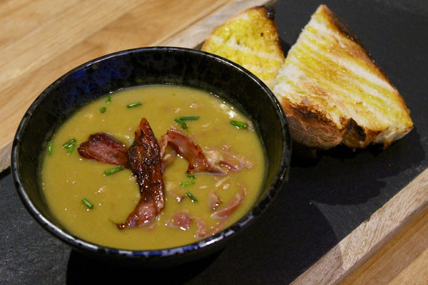 Smoked Ham Hock and Pea Soup