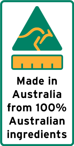 Made from 100% Australian Ingredients
