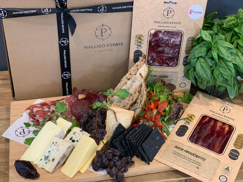 Charcuterie and Cheese Hamper PICK UP ONLY - Pialligo Estate