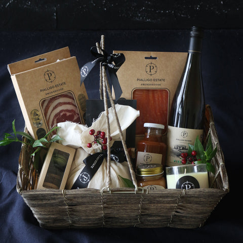 Hamper Gift Basket Packaging - Pialligo Estate