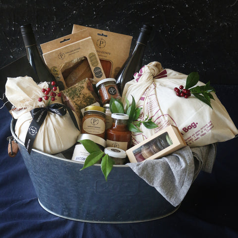 Hamper Gift Tub Packaging - Pialligo Estate
