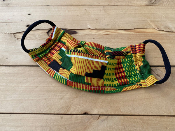 Kente Print Too Mask