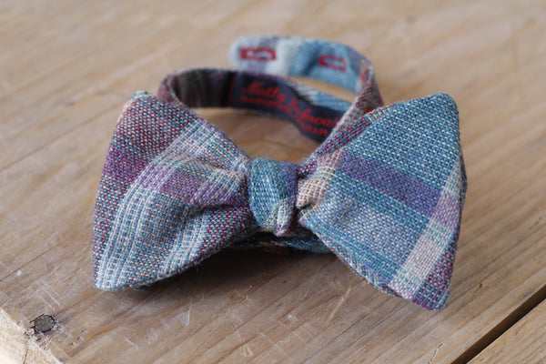 earth tones bow tie