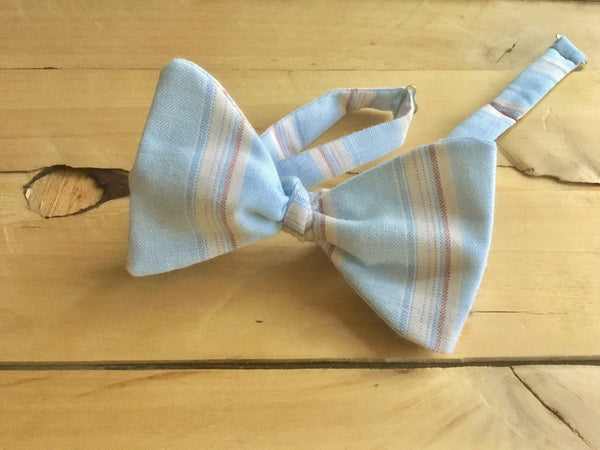 striped vintage vestige bow tie