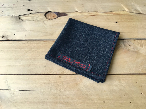 charcoal charlie pocket square
