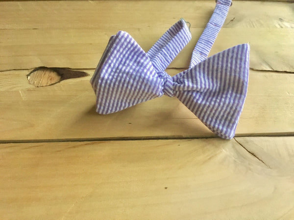 purple seer bow tie