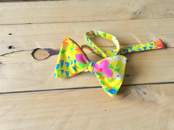 sunny side up bow tie