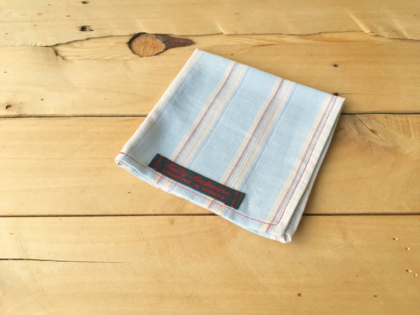striped vintage vestige pocket square