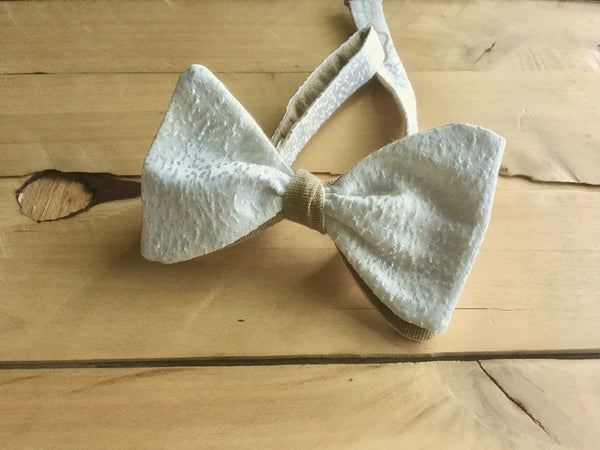 golden ivory goodness bow tie