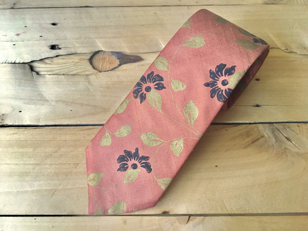 autumn gold necktie